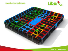 Large Indoor Trampoline Court With CE Certificate