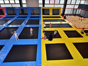 Liben Trampoline Park in Lithuania
