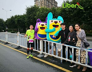 Pokiddo Attend the Marathon in WenZhou City