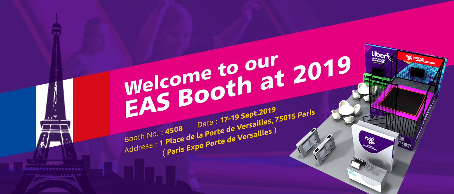 Welcome to our EAS booth at 2019