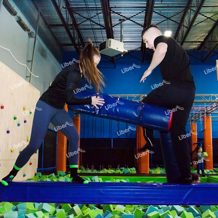What Games Are Often Used For Parent-child Activities In The Trampoline Park?