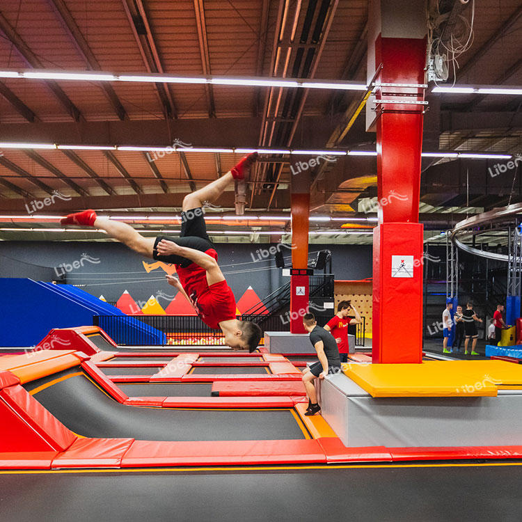 Pay Close Attention To The New Development Trend Of The Trampoline Park And Constantly Adjust The Management Strategy.