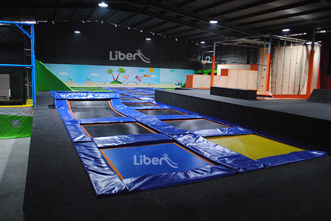 Adult Trampoline Park Real Photos