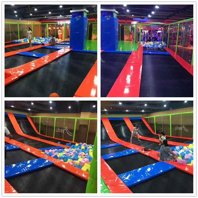 Real pictures of Trampoline for kids