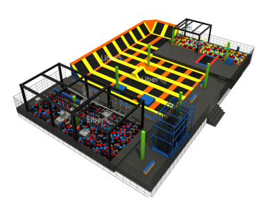 Design for trampoline workout
