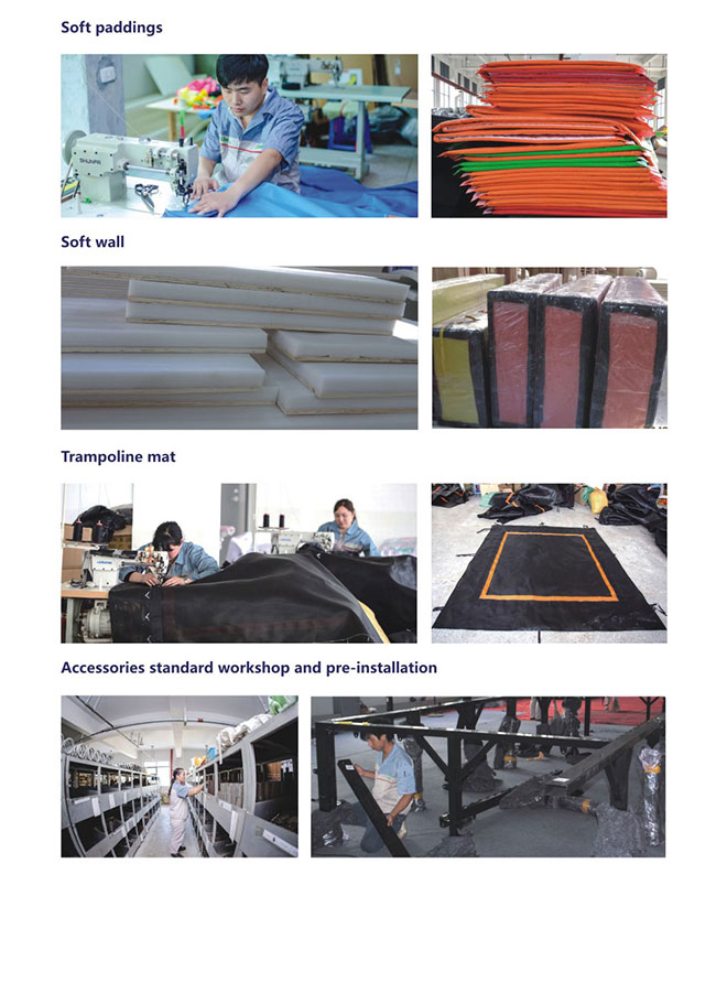 Trampoline Soft Padding Production
