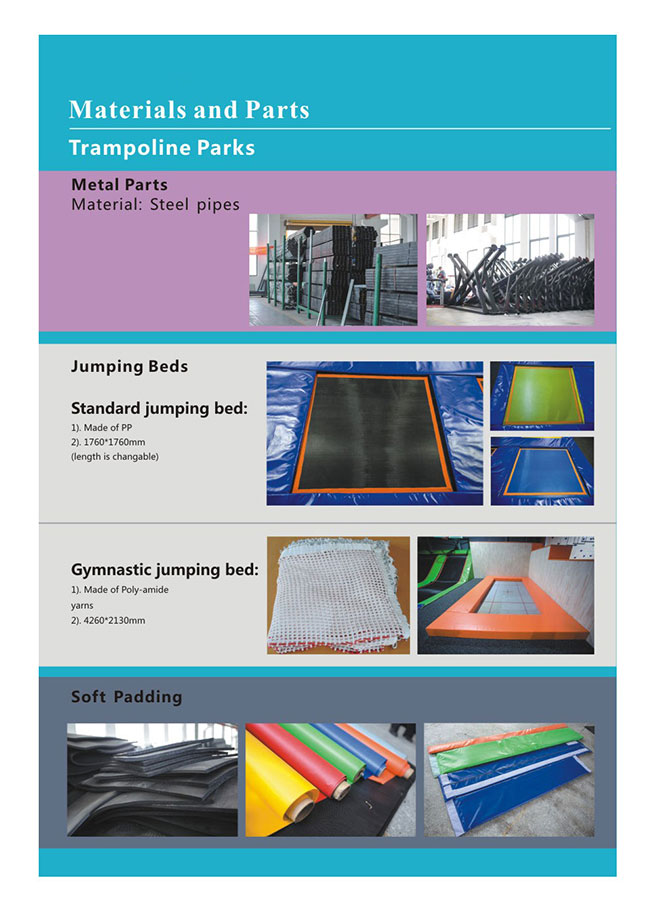 Trampoline Material And Parts