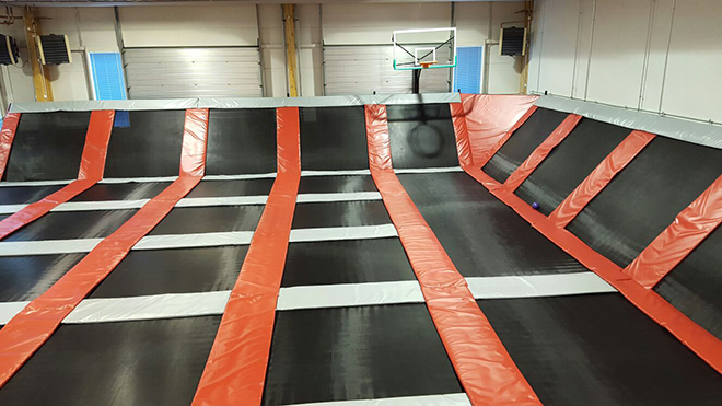 Trampoline Park Arena free jumping area