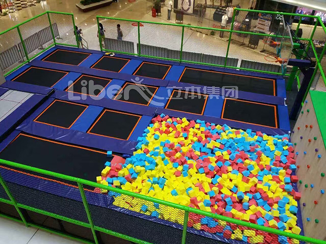 Kids Trampoline Court